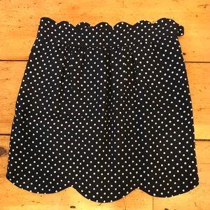 Chloe polka dot skirt!